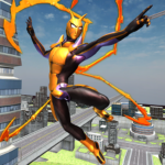 Flying Spider Hero Two -The Super Spider Hero 2020 0.2.7 APK (MOD, Unlimited Money)