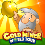 Gold Miner World Tour: Gold Rush Puzzle RPG Game 1.7.11 APK (MOD, Unlimited Money)