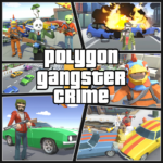 Grand City Theft War: Polygon Open World Crime 2.1.4 APK (MOD, Unlimited Money)