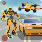 Grand Robot Hero Transform: Drone Car Robot Games 1.24 APK (MOD, Unlimited Money)