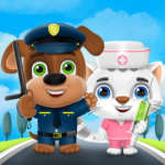 Kideo Town: Learn Professions 1.0.8 APK (MOD, Unlimited Money)