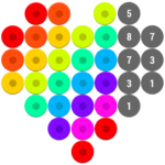 Mosaic Color by Number – Hex Puzzle Beads For Kids 1.7 APK (MOD, Unlimited Money)