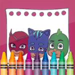 PJ Superheroes Masks Coloring 2.4 APK (MOD, Unlimited Money)