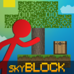 Stickman vs Multicraft: Skyblock Craft 1.1.2 APK (MOD, Unlimited Money)
