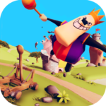 Catapult Shooter 3D💥: Revenge of the Angry King👑 1.0.19 APK (MOD, Unlimited Money)