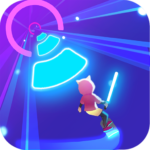 Cyber Surfer: >Free Game > the Rhythm Knight 0.1.00 APK (MOD, Unlimited Money)