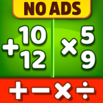 Math Games – Addition, Subtraction, Multiplication 1.1.3  APK (MOD, Unlimited Money)