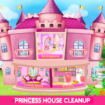 Princess House Cleanup For Girls: Keep Home Clean 25.0.0 APK (MOD, Unlimited Money)