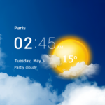 Transparent clock and weather – forecast and radar 5.4.19 APK (MOD, Unlimited Money)