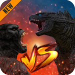 Godzilla & Kong 2021: Angry Monster Fighting Games 6 APK (MOD, Unlimited Money)