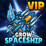 Grow Spaceship VIP – Galaxy Battle 5.4.6 MOD (Unlimited Money)