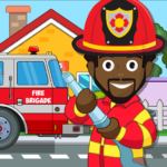 Pretend my Fire Station: Town Firefighter Life 1.4 APK (MOD, Unlimited Money)