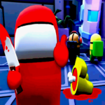 Red Imposter Among Us Race Game 3D 1.2 MOD (Unlimited Money)