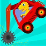 Dinosaur Digger – Truck simulator games for kids  MOD (Unlimited Money) 1.1.8