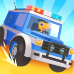 Dinosaur Police Car – Police Chase Games for Kids  MOD (Unlimited Money) 1.1.4