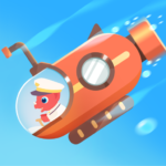 Dinosaur Submarine: Games for kids & toddlers  MOD (Unlimited Money) 0.9