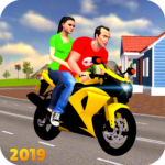 Offroad Bike Taxi Driver: Motorcycle Cab Rider  MOD (Unlimited Money)3.2.16