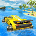 Water Surfer car Floating Beach Drive  MOD (Unlimited Money) 1.19