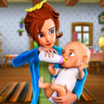 Busy Virtual Mother Simulator 2 : Family game 2.1 MOD (Unlimited Money)
