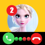 Call Elssa Chat + video call (Simulation) 14.0  MOD (Unlimited Money)