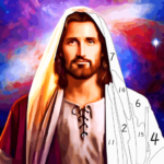 Jesus Coloring Book – Bible&Jesus Paint by Number  MOD (Unlimited Money) v1.8
