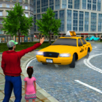 New Taxi Driving Games 2020 – Real Taxi Driver 3d 7 MOD (Unlimited Money)