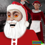 Scary Santa Granny Chapter 2 – Escape Horror House 1.7   MOD (Unlimited Money)