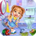 Sweet Baby Girl Cleaning Games 2021: House Cleanup 1.0.5 MOD (Unlimited Money)