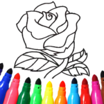 Valentines love coloring book 16.4.2  MOD (Unlimited Money)
