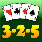 3 2 5 card game 3.0.1 MOD (Unlimited Money)