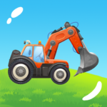 Build a House with Building Trucks! Games for Kids 1.12 MOD (Unlimited Money)