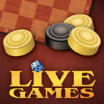Checkers LiveGames – free online game  MOD (Unlimited Money) 4.03