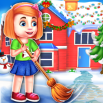 Christmas House Cleaning Game 1.0.5 MOD (Unlimited Money)