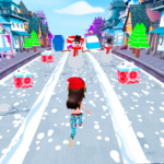 Happy Holiday Runner 3D 1.4 MOD (Unlimited Money)