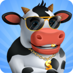 Idle Cow Clicker Games: Idle Tycoon Games Offline  MOD (Unlimited Money) 3.1.4