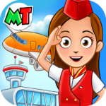 My Town : Airport. Free Airplane Games for kids 1.03 MOD (Unlimited Money)