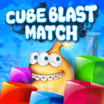 Cube Blast: Match – 3D blast puzzle fun with toons  MOD (Unlimited Money)