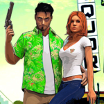 Miami Gangster Crime City – Open World Games 2021  MOD (Unlimited Money) 1.17