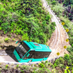 Offroad Mountains Bus Driving Simulator:Coach Game  MOD (Unlimited Money) 1.6