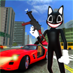 Scary Cartoon Cat Horror Game : Gangster Cat Mod  MOD (Unlimited Money) 1.5