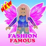 Fashion Famous Frenzy Dress Up Runway Show obby  MOD (Unlimited Money) 1.3.190