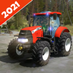 Real Tractor Farming Game 2021  MOD (Unlimited Money)