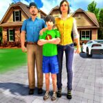 Happy Family Life Dad Mom  MOD (Unlimited Money) 1.2